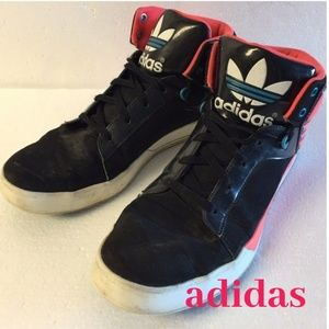 Banzai Meyella Desventaja  adidas Shoes | Evh 791004 90s Style Neon Black High Top | Poshmark
